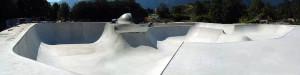 Brixlegg skatepark in Tirol, Austria