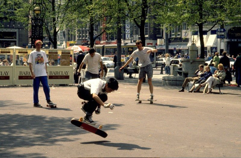 beursplein freestyledemo 1988