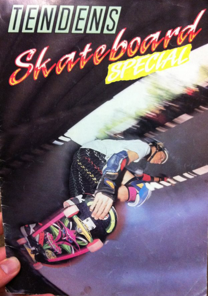 Tony Hawk during the 1989 Bones Brigade demo at the Schellingwoude vertramp