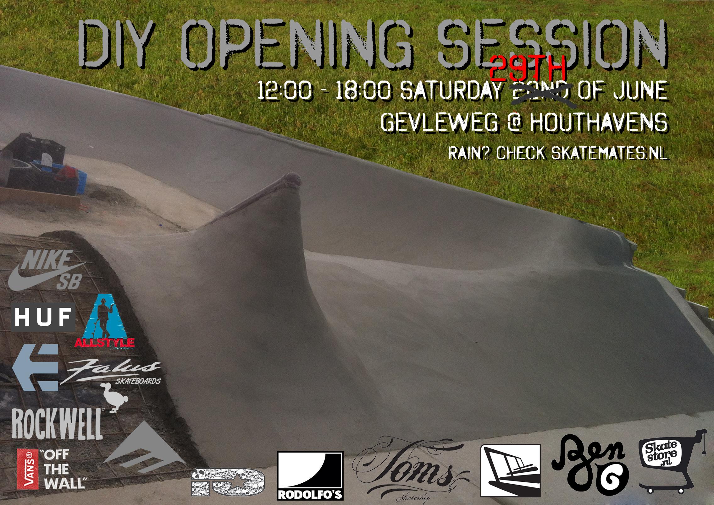 diy opening flyer newdate