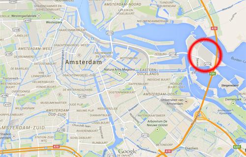 amsterdam maps zeeburgereiland