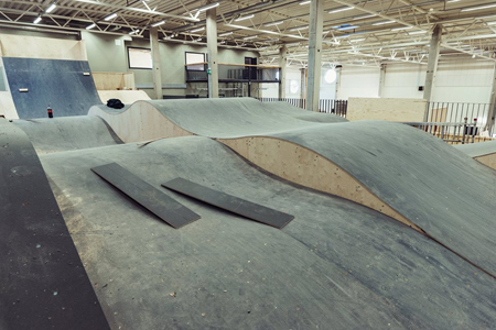 spot indoor pumptrack